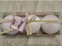 Lavender Bath Bombs - New & Sealed