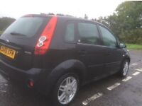 2006 ford Fiesta ghia with 12 months mot in great condition