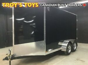 2018 Canadian Trailer Company 6X12 V Nose Cargo Trailer