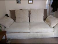 FREE 2nd hand 3 seater SCS Strand slouch sofa