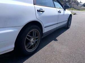 """AMG 17"""" Alloy Mag Wheel Rim Set with Tyres 114.3 X 5 Browns Plains Logan Area Preview"""