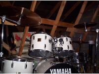 yamaha full professional drum kit