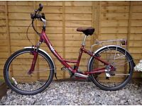 CurrieTech IZIP Skyline Ladies ELECTRIC BIKE with frame size 17''/ 43cm but missing/faulty battery