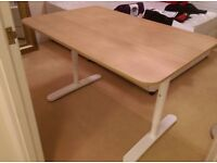 IKEA Desk/Table 120L X 80W X 74H as new