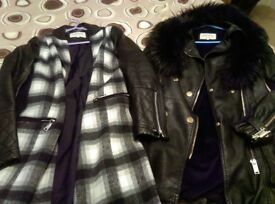 River Island Two jackets (Size 10)