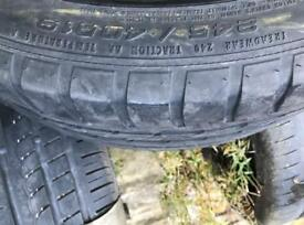 245/40/19 GOODYEAR EAGLE TYRE WITH 4MM TREAD ONLY £35!!