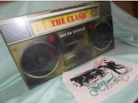 The clash 'Sound System' ultra rare box set, new, sealed