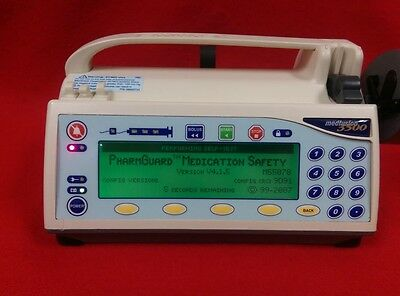 3500 Pump (Medfusion 3500 Syringe Pump Patient Ready New Batter Rev 4.1 Crtfd Warranty 1)