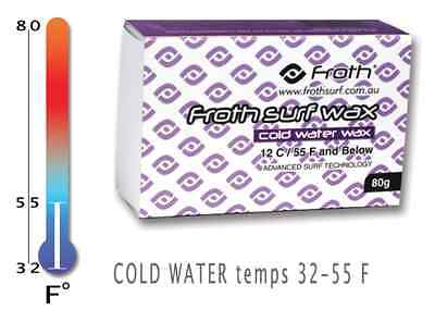 """Froth Surf Wax COLD Water Temp - """"4-Pack"""""""