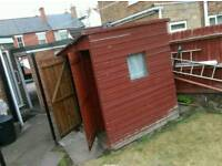Used shed