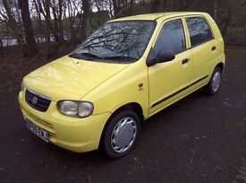 2006 Suzuki Alto 1.1 GL Automatic Full MOT Cheap To Run