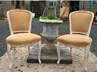 Pair of Louis Style French Chairs