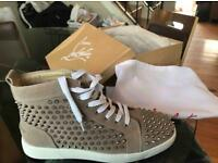 Light Brown Spiked Christian Louboutins (Sold out but taking orders)