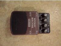 Guitar foot pedals