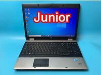 HP i5 VeryFast 6GB Ram 500GB HD ProBook Laptop, Win 10, Microsoft office VGood Condition