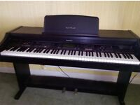 Technics Digital Ensemble piano, featuring a wide variety of of instrumental sounds.