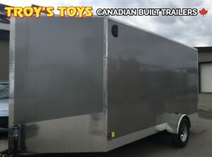 2017 Canadian Trailer Company 7X14 V-Nose Cargo Trailer