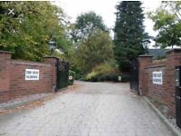 Garage for rent in secure gated complex - Stafford town centre