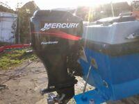 Mi 18 Dory, The engine is a 75hp Mercury four stroke