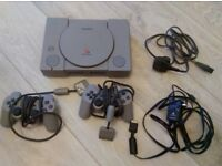 PS1 Bundle with Games