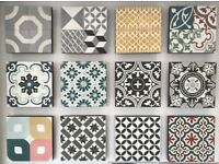 Encaustic Cement Hand Made Tiles *Over 50 Different Patterns*