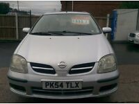 NISSAN TINO SE 1.8 PETROL NICE AND CLEAN 12 MONTHS MOT