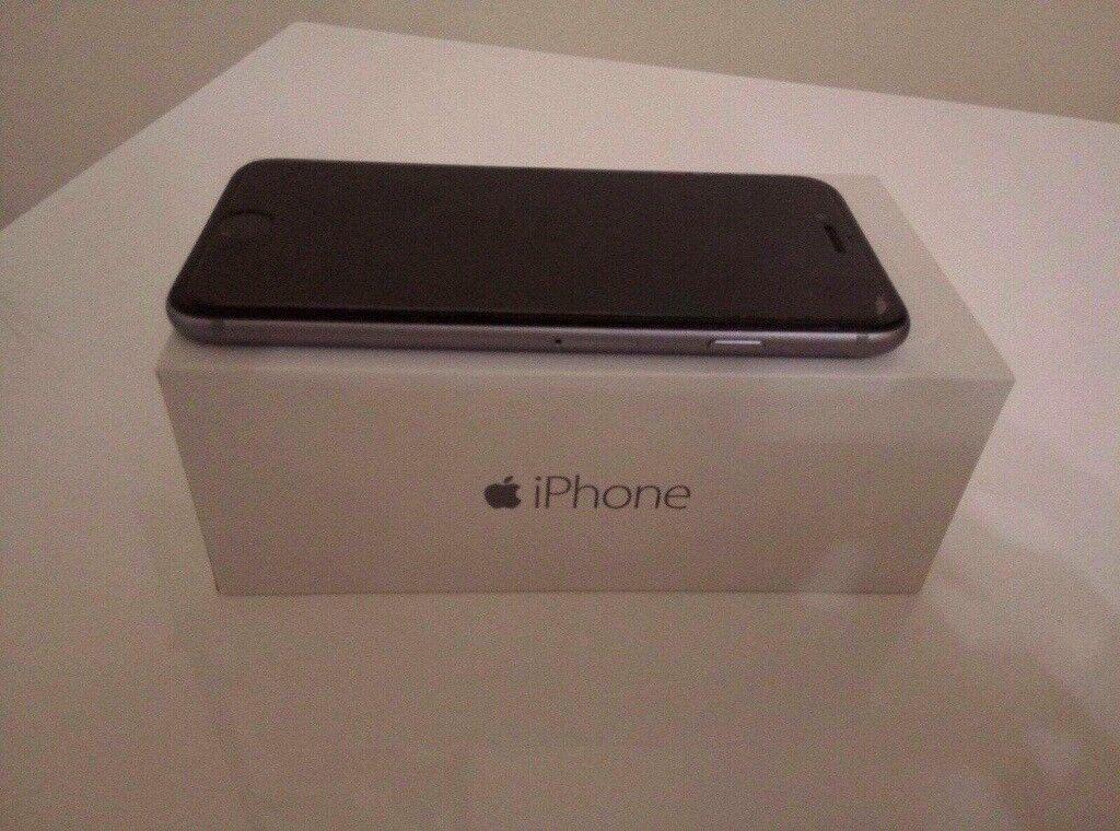 Iphone 6 16 GB silver/ grey