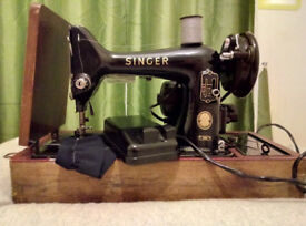 ELECTRIC SINGER 99K VINTAGE SEWING MACHINE