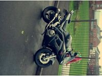 SV650 K8 SPORT, outstanding bike no floors, tail tidy, scorpion exhaust beautiful sound