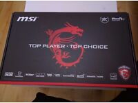 Brand NEW!! MSI gaming laptop with full Warranty (VR READY) Never been USED
