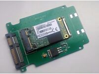 "ranscend 512GB mSATA SATA III Solid State Drive / SSD - optional 2.5"" converter."