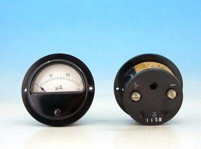 1x Vintage Gossen Analog Panel Micro Ampere Meter System Dc 0-150ua Gauge N