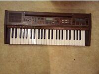 Vintage Casio keyboard