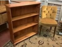 Solid Pine Bookcase *DELIVERY POSS* Bookshelves Display Dresser (shabby chic not oak)