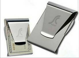 Brand new silver money clip
