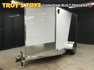 2018 Canadian Trailer Company 6X10 V-Nose Cargo Trailer