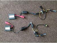 Bmw e46 xenon 2x full balast and bulbs