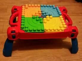 Megablocks table