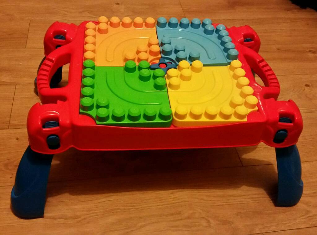 Megablocks table
