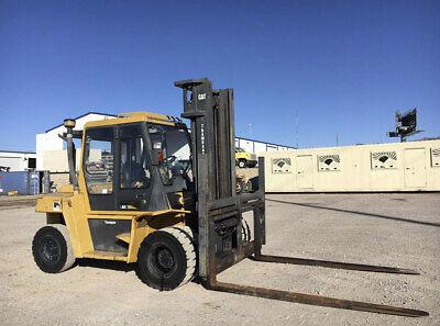 Cat Dp70 Forklift Capacity 15500 Lbs Hours 2218