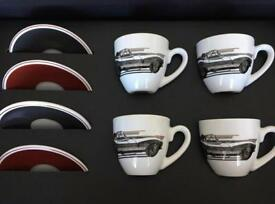 Jaguar heritage coffee cup & saucer set