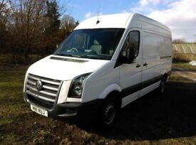 Volkswagen Crafter 2.5 BlueTDI CR35 High Roof Van 4dr Euro 5 , Tidy Throughout