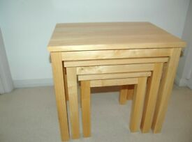 Nest of tables - mango wood