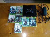 Xbox 360 250MB + 7 Games (6 Assassins Creed titles)