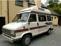 Talbot Express motorhome for sale. 1989 56k low mileage MOT March 2019 4 berth. campervan