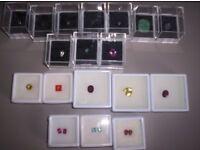 Boxed Gem Stones