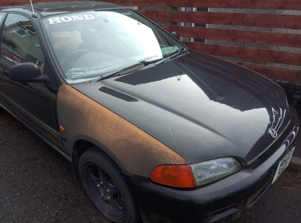 1995 Honda Civic Hatchback For Project/spares/repair.