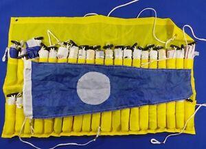 International-Code-Flag-Set-40-Sewn-Flags-Sailing-Boating-Yacht-New-A373