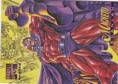 1995 Marvel Masterpiece  Canvas Card #13-Magneto  vf/nm