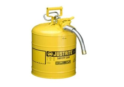 Justrite 7250230 Type Ii Accuflow 5 Gallon Diesel Safety Can With 1 In. Hose - Y